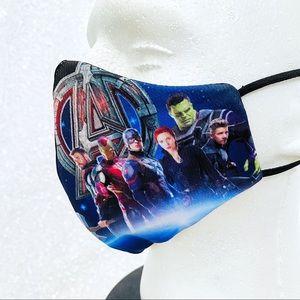 marvel avengers kid face mask